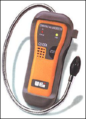 Example of a portable meter that can measure hydrogen sulfide