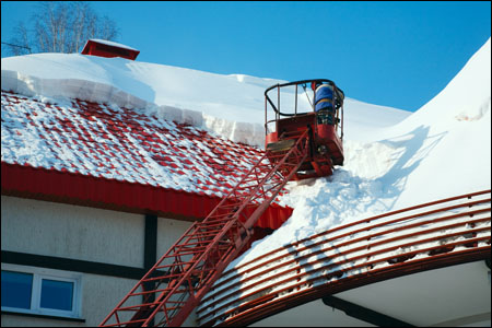 Aerial lift used in snow removal - Copyright WARNING: Not all materials on this Web site were created by the federal government. Some content � including both images and text � may be the copyrighted property of others and used by the DOL under a license. Such content generally is accompanied by a copyright notice. It is your responsibility to obtain any necessary permission from the owner's of such material prior to making use of it. You may contact the DOL for details on specific content, but we cannot guarantee the copyright status of such items. Please consult the U.S. Copyright Office at the Library of Congress � http://www.copyright.gov � to search for copyrighted materials.