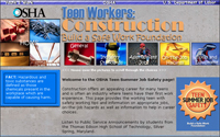 Teen Workers: Construction - Build a Safe Work Foundation!