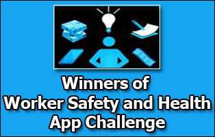 Winners of worker safety and health app challenge