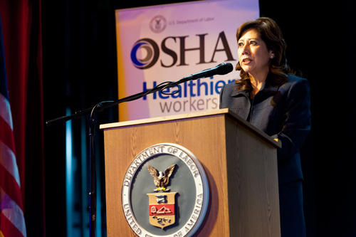 Secretary of Labor Hilda L. Solis