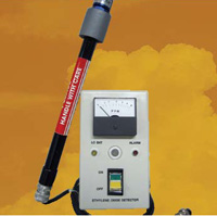 Portable EtO gas-detection meter.