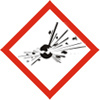 Exploding Bomb Pictogram