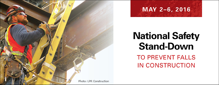 National Safety Stand-Down - Photo Credit: LPR Construction