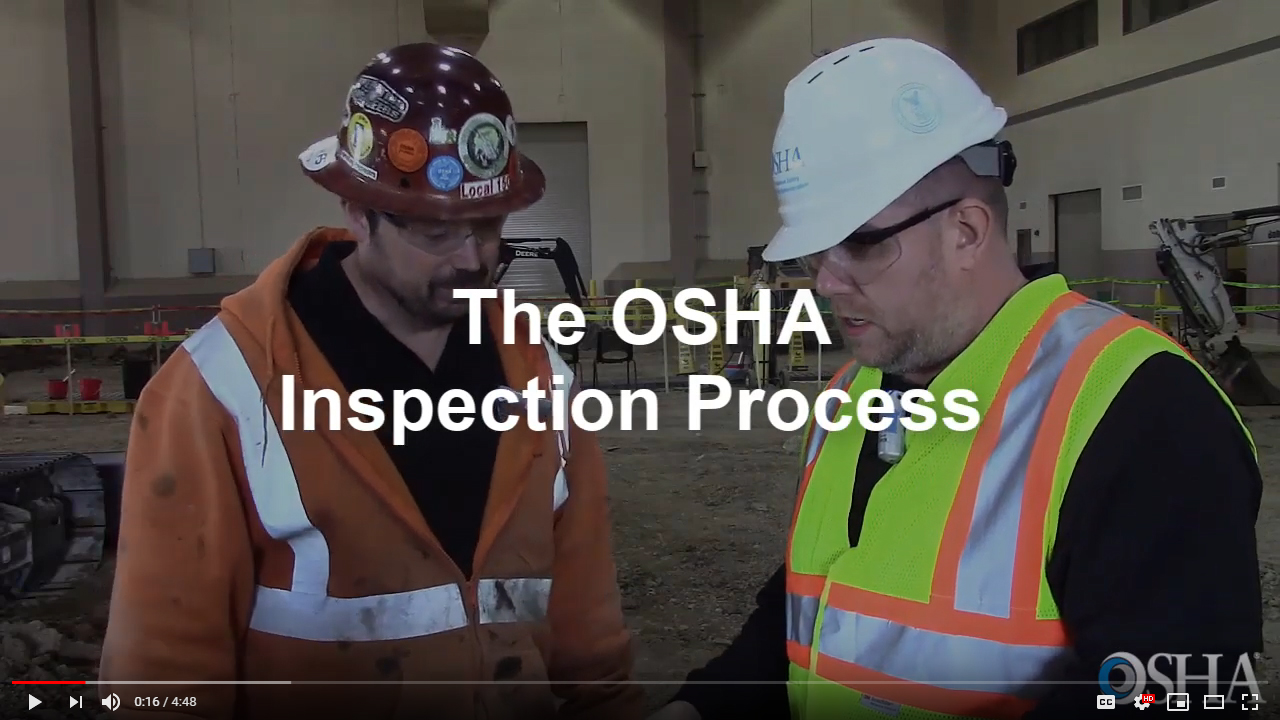 The OSHA Inspection Process Video