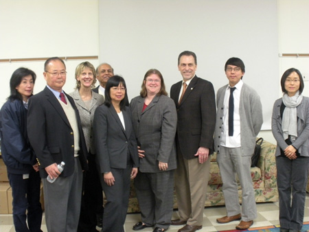 OSHA and the Wage and Hour Division staff at the Worker Rights Forum for Asian Workers in New Jersey.
