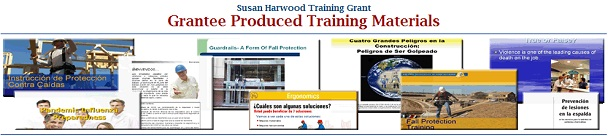 Susan Harwood Training Grant banner