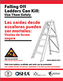 Falling off Ladders Can Kill: Use Them Safely - Booklet