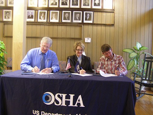 OSHA forms alliance with the Louisiana Forestry Association and the Louisiana Logging Council in Baton Rouge