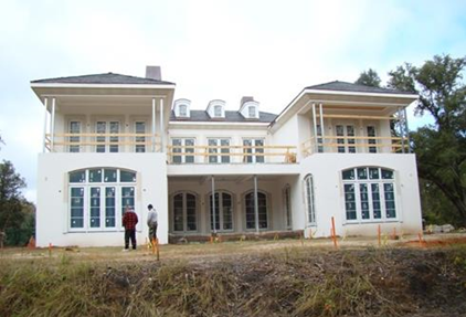 The Ocean Springs house where Gerald Moran fell to his death.