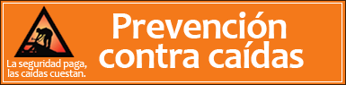 Prevención contra caídas (Fall Prevention in Construction)