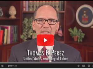 Thomas E. Perez. United States Secretary of Labor