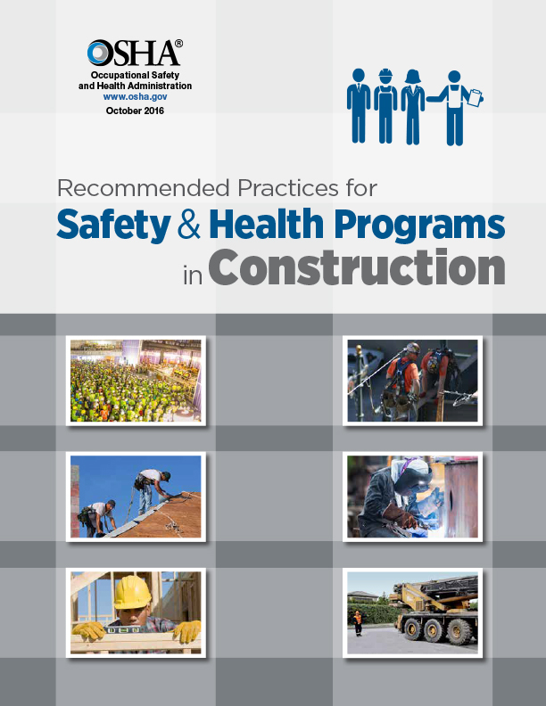 Safety and Health Programs: Recommended Practices in Construction