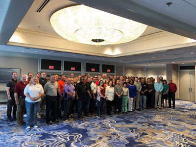 SGE training class August, 2019 at   the National VPPPA Symposium, New Orleans Marriott, New Orleans, Louisiana