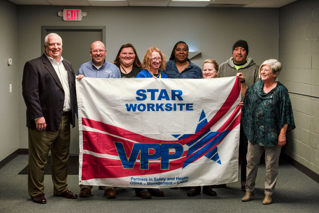 Buckhead Meat and Seafood of Ohio, Northwood, OH – New VPP Star Ceremony
