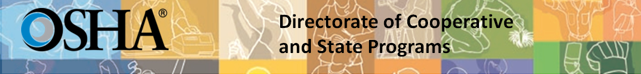 OSHA Directorate of Cooperative and State Programs