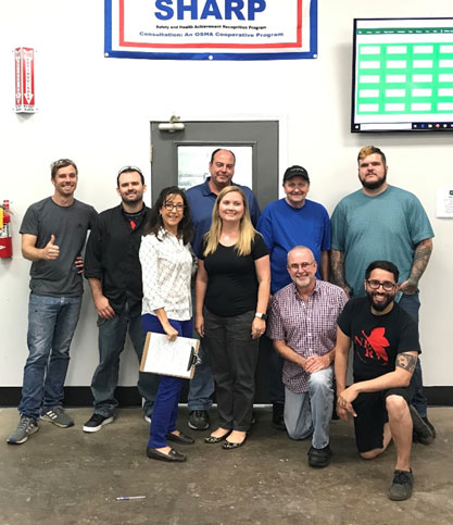 SigmaPro Engineering and Manufacturing, LLC Recognized as an OSHA SHARP Participant