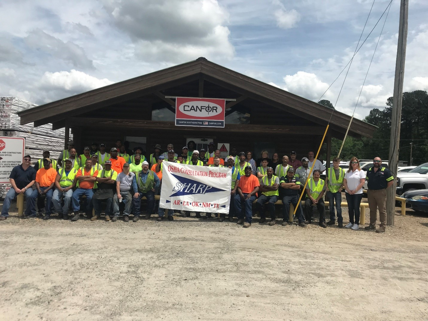 Canfor's El Dorado Facility Re-Certified as an OSHA SHARP Site