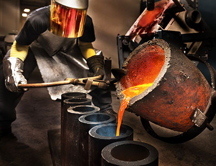 Foundry worker - Photo Credit: iStock - 492798423 | Copyright: HadelProductions