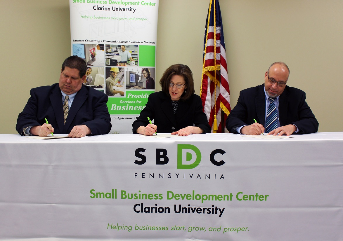 Clarion University Small Business Development Center and Pennsylvania OSHA Consultation Program