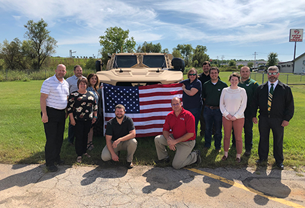 SGE training course conducted September, 2019 hosted by Oshkosh Defense, LLC, located in Oshkosh, Wisconsin