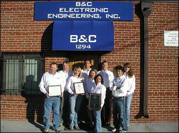 B&C Electronic Engineering, Inc.'s SHARP Recognition
