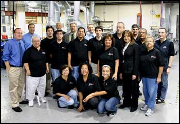 Ideal Jacobs Employees at the Maplewood, New Jersey Plant