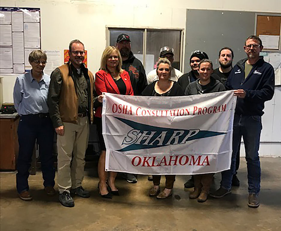 "Enid, Oklahoma, Mayor Proclaims ""Specialty Plastics Day"" in Recognition of SHARP Certification"