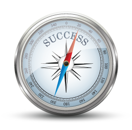 Compass pointing to success. Photo Credit: iStock - Copyright: Booka1