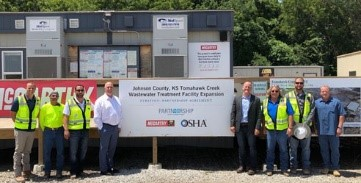 Tomahawk Creek Wastewater Treatment Facility Partnership Signing, July 11, 2019
