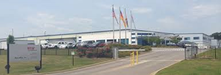 The WKW facility in Pell City, Alabama, where a worker fell into a tank containing acid and suffered severe burns.