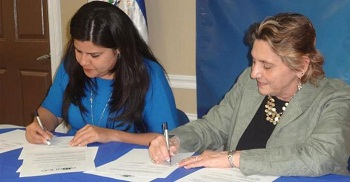 OSHA and the El Salvadoran consulate in Georgia sign an alliance agreement