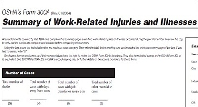 Ilness/Injury Summary