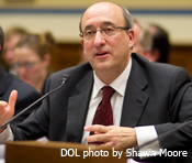 OSHA Assistant Secretary David Michaels testifies about OSHA's contributions to worker safety.