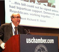 OSHA Assistant Secretary David Michaels addresses the U.S. Chamber of Commerce's Labor Relations Committee.
