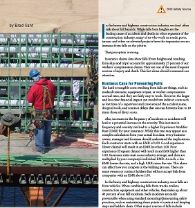 Transportation Builder article on OSHA's Fall Prevention Campaign