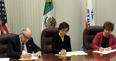 OSHA Alliance signing with Consulate of Mexico in Kansas City, Mo.