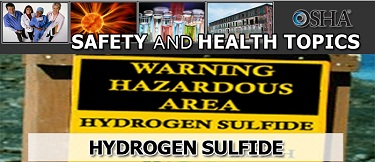 Hydrogen sulphide Safety and Health Topics page