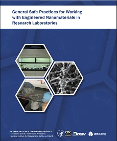 General Safe Practices for Working with Engineered Nanomaterials in Research Laboratories - front page cover image