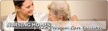Nursing Homes and Personal Care Facilities page