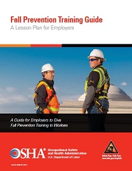 Fall prevention booklet