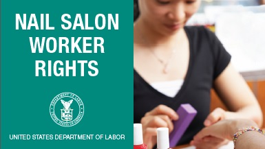 Nail Salon Worker Rights flyer