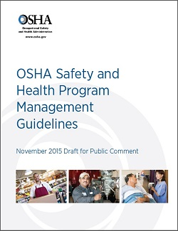 OSHA Safety and Health Program Management Guidelines