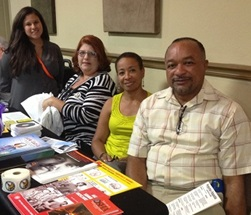 Bilingual OSHA staff at Mexican Consulate Health Fair