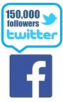 Join us on Twitter and Facebook