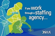 If you work through a staffing agency