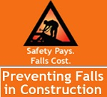 Safety pays Falls Cost - Preventing falls in construction image