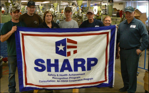 R.C. Bigelow Tea's Boise facility maintains strong safety record and is renewed for SHARP
