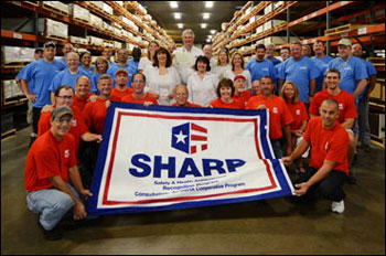 King Plastics Earns SHARP Recognition After Reducing TRC Rate to Zero through its Work with Florida's  On-Site Consultation Program.