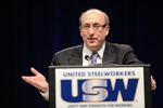 OSHA Assistant Secretary David Michaels addresses the United Steelworkers Convention